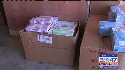 News video: Local group gathering items for Ebola fight in Liberia